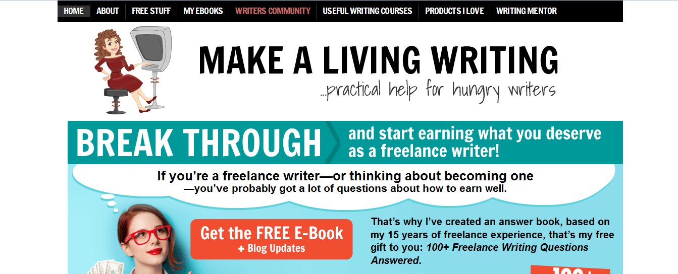 make a leaving writing