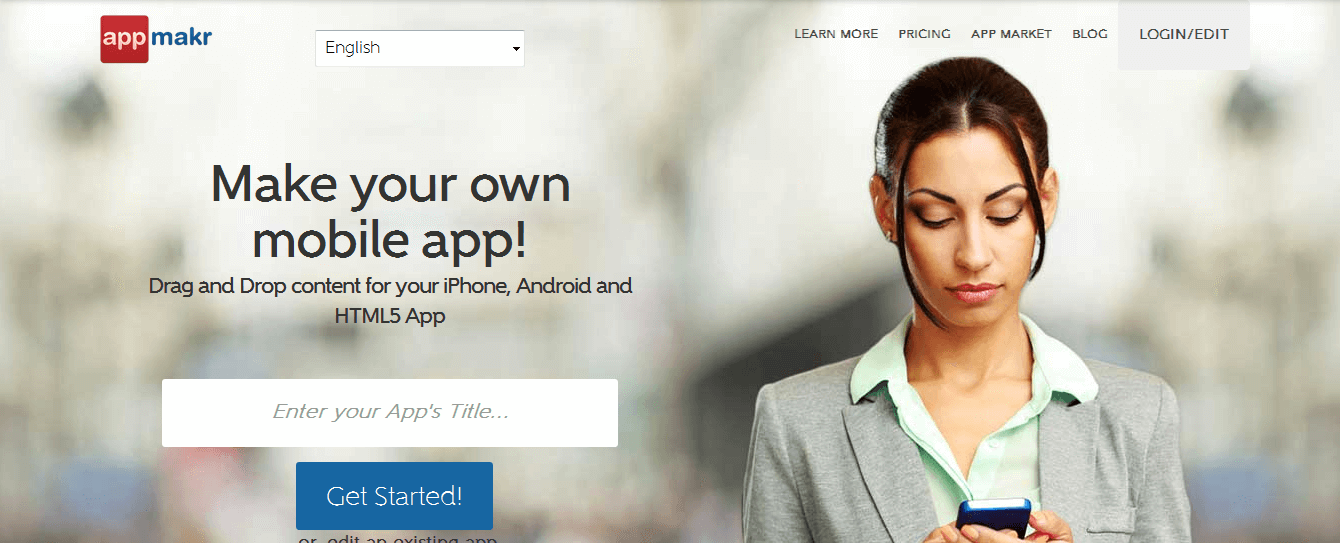 10 platforms to diy mobile apps appmakr is one of the most popular do it yourself mobile application building platforms in the industry appmakr provides a simple drag and drop interface solutioingenieria Images