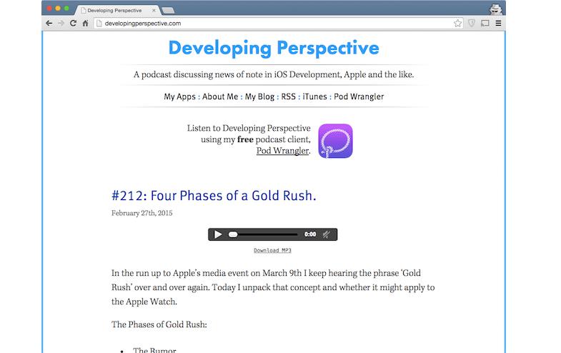 Developing Prespective