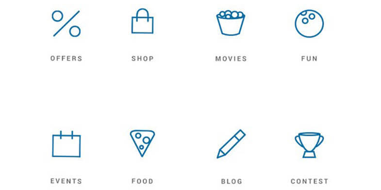 Mall Site Icons