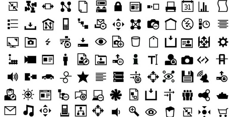 10 Free Minimalist Icon Design Sets