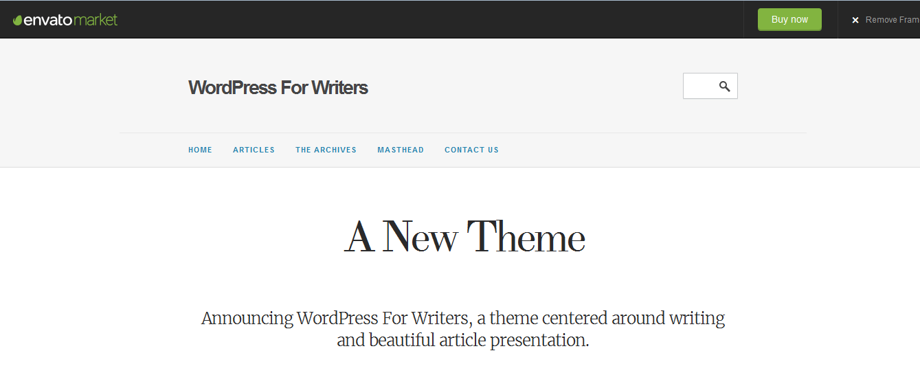 Wordpress for Writers