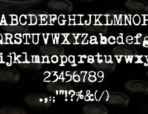 10-Cool-Typewriter-Fonts
