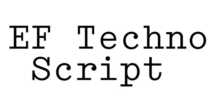 EF Techno Script