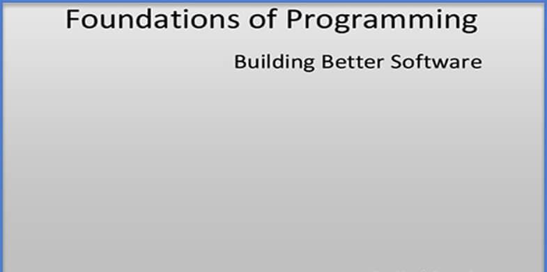 Foundations-of-Programming