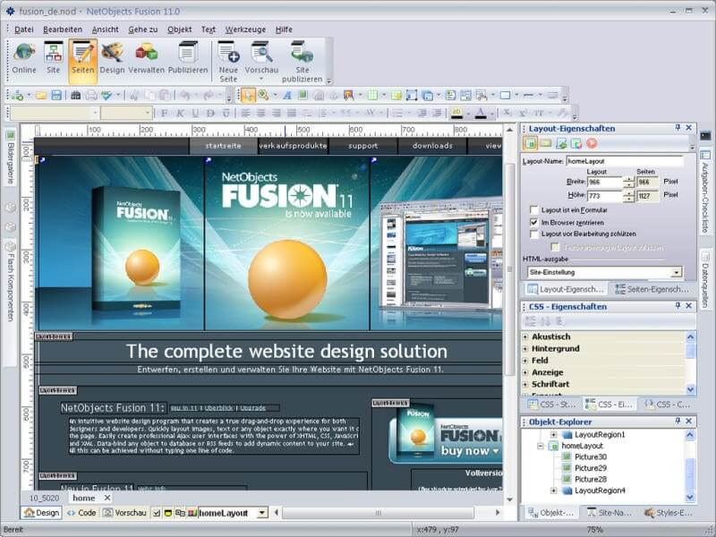 Web Page Design Software For Beginners