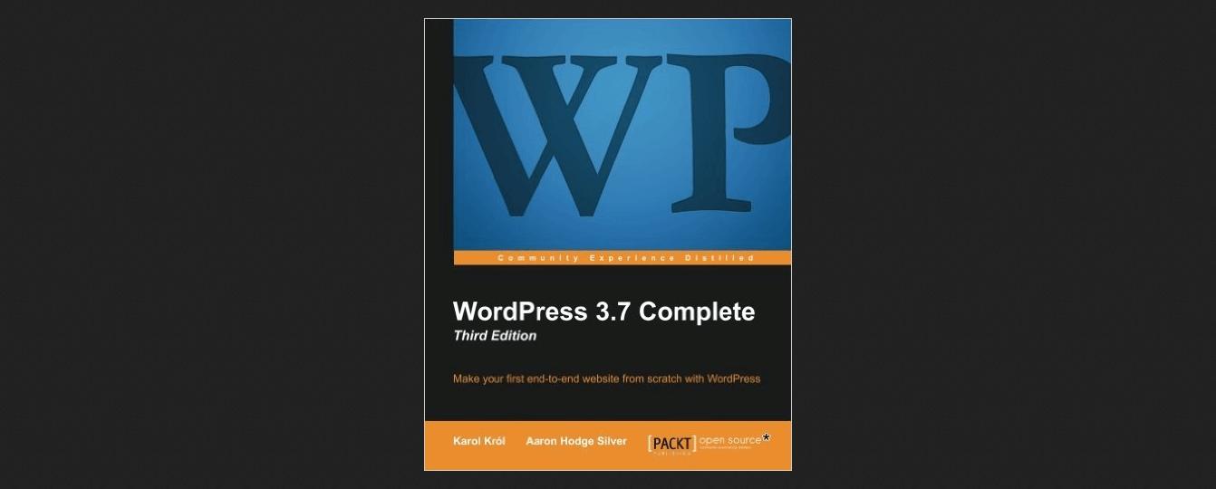 WordPress 3.7 Complete