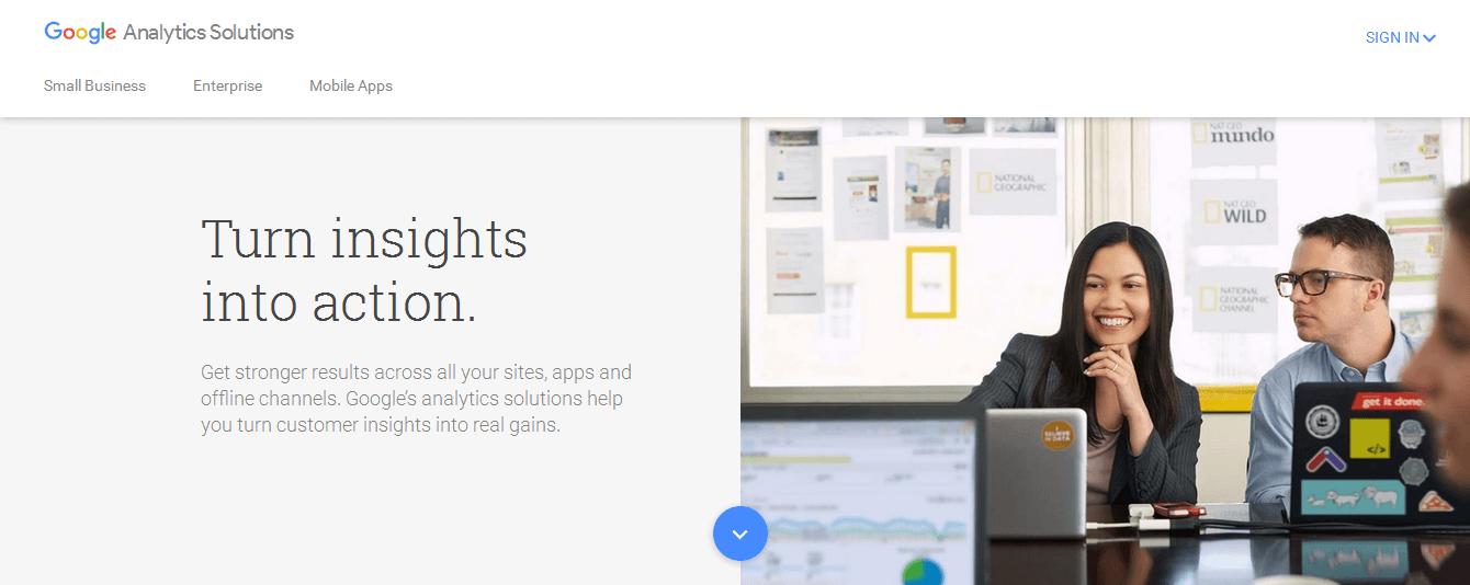 Google Analytics Solutions