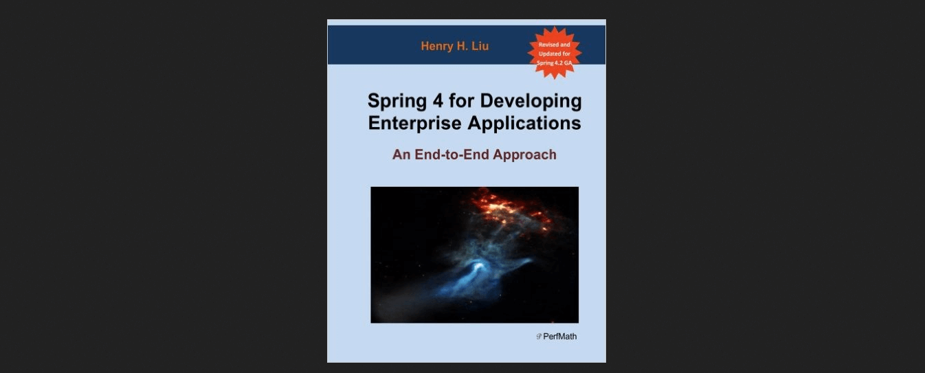 Spring 4 for Developing Enterprise Applications