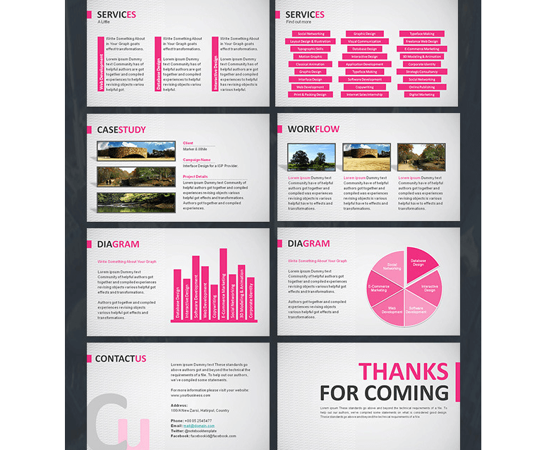 4 in 1 PowerPoint Presentation Bundle