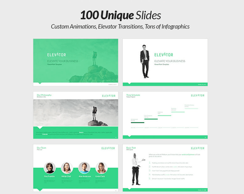 5-in-1 Powerpoint Presentation Bundle