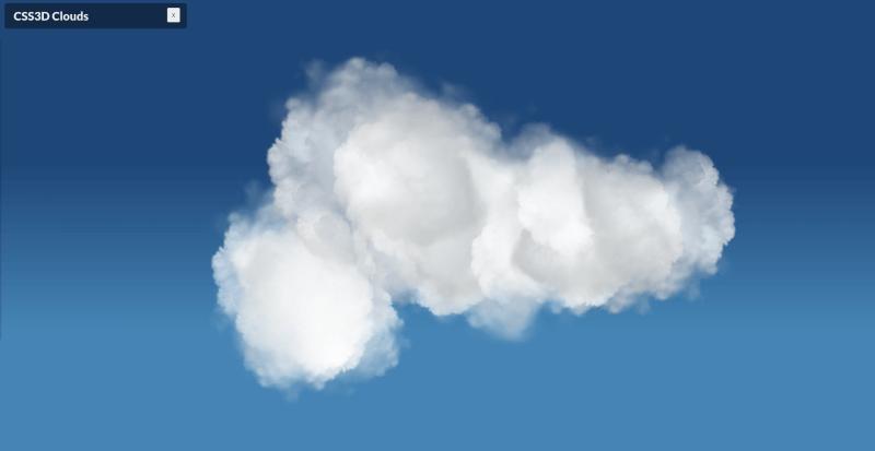 CSS3D Clouds