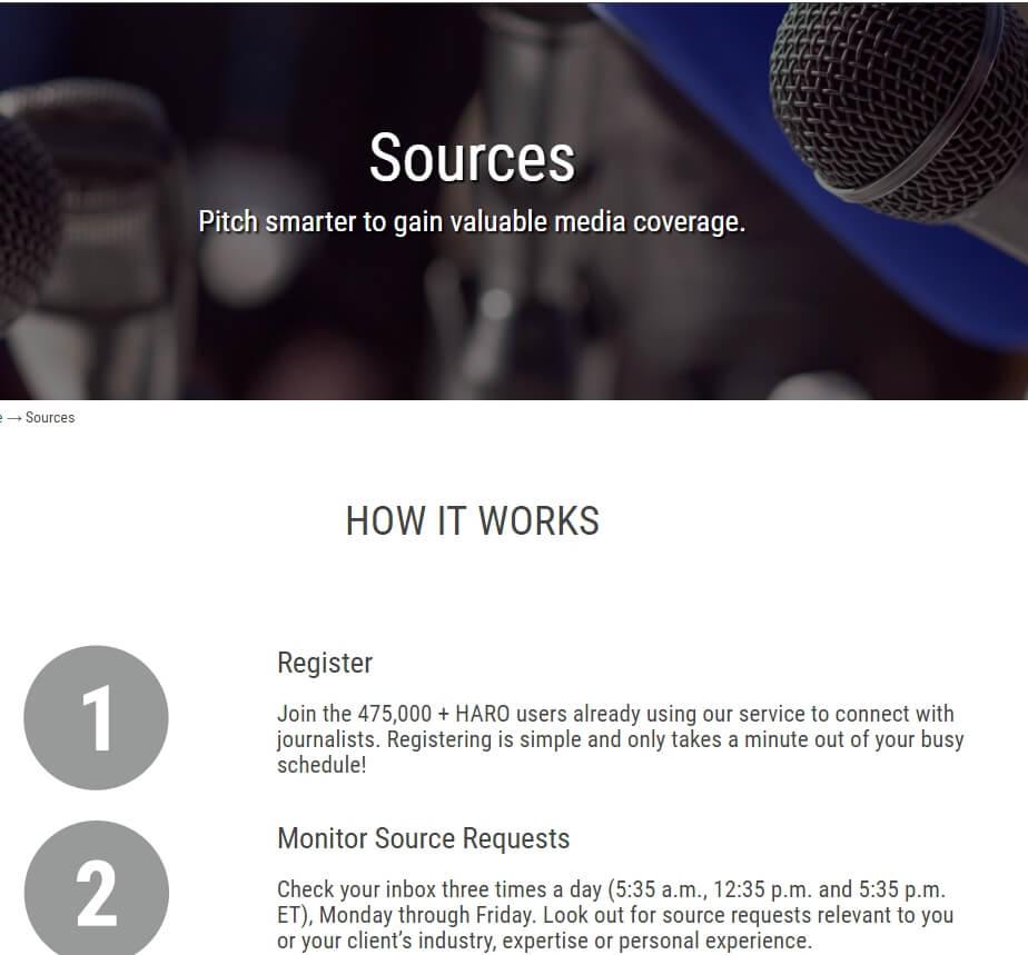 HARO-sources