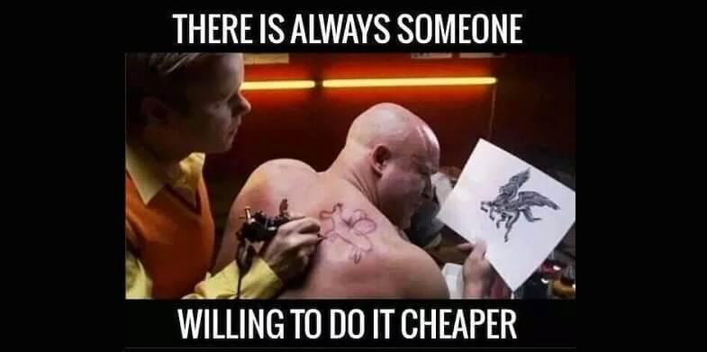 Have a Cheap Client