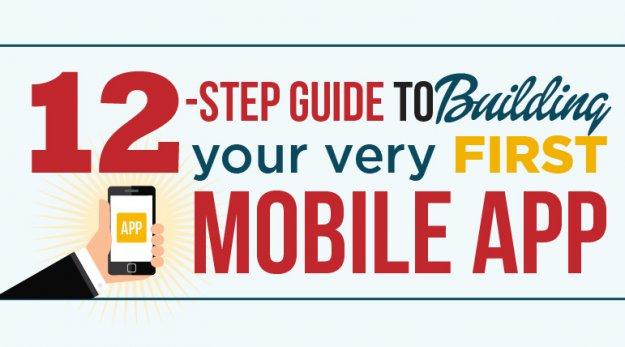 Infograph-Building-Mobile-App