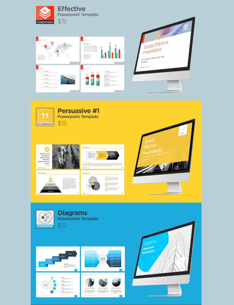 Slidehack's 6 in 1 Powerpoint Bundle