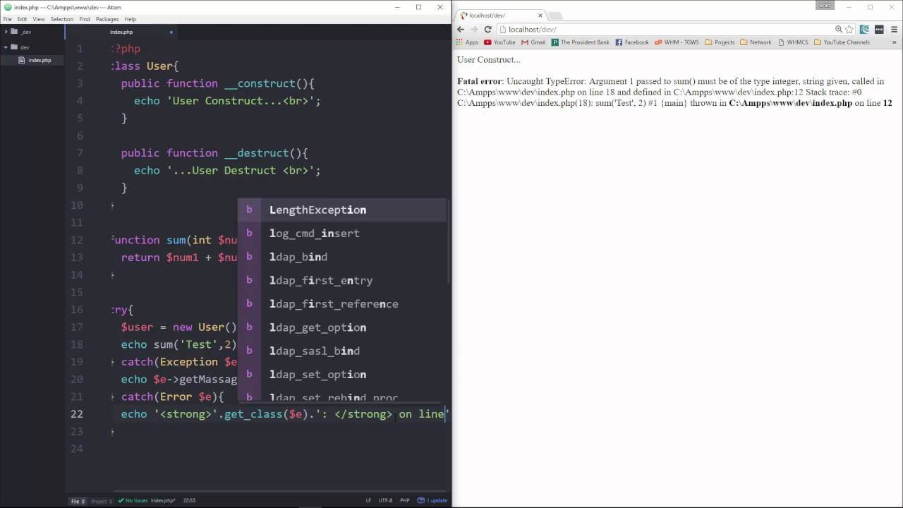 Learn about Error Handling in PHP 7 - Part 4