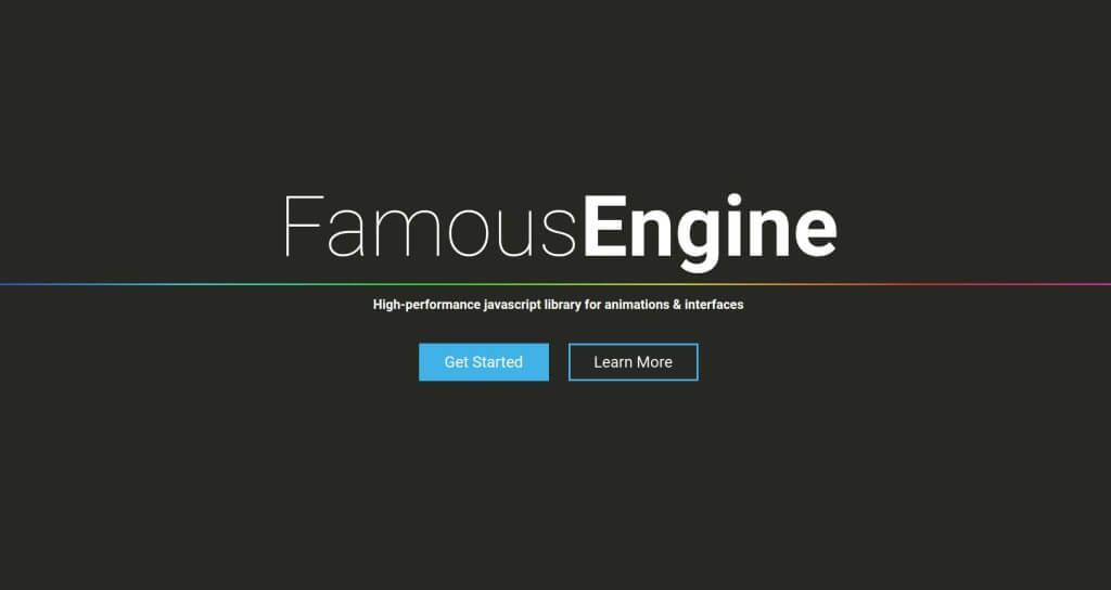 famous - Mobile Web App Framework