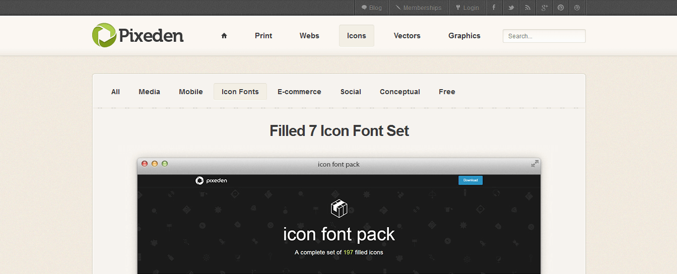 filled-7-icon-font-set