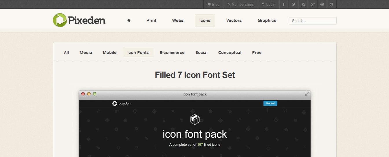filled-7-icon-font-set