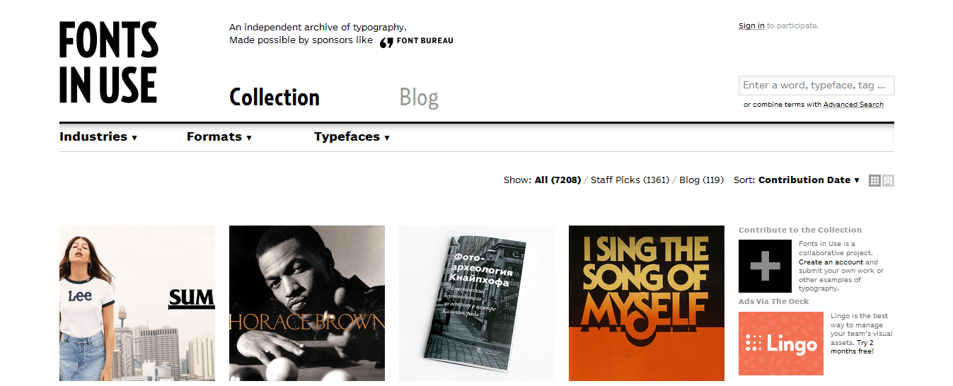 fonts-in-use