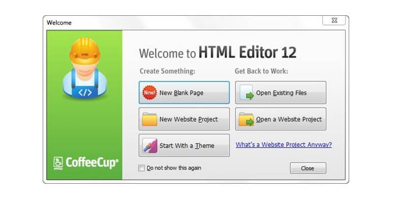 html editor web development apps