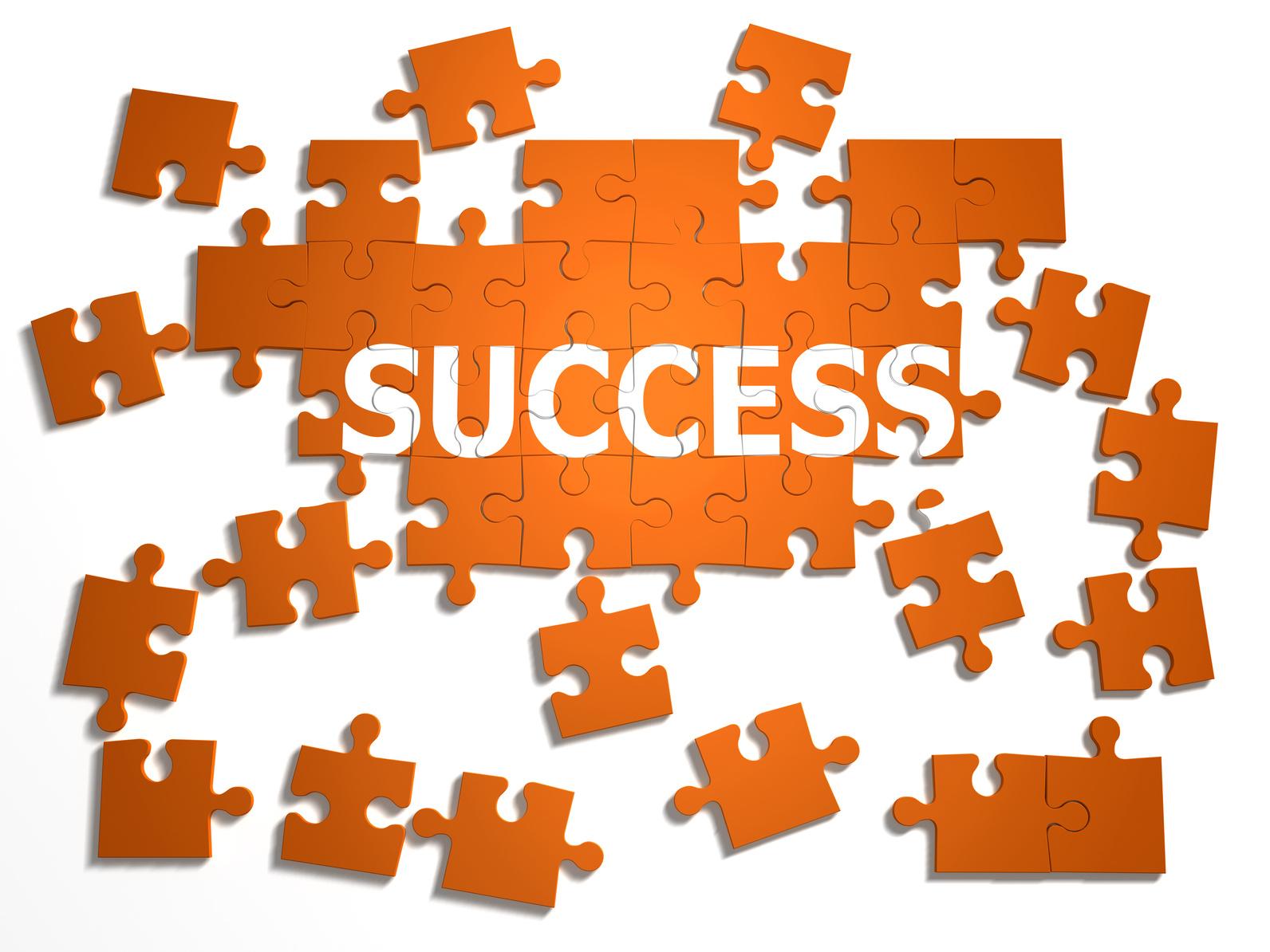 3d Success is a puzzle