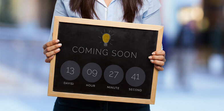 Coming Soon Page Ideas
