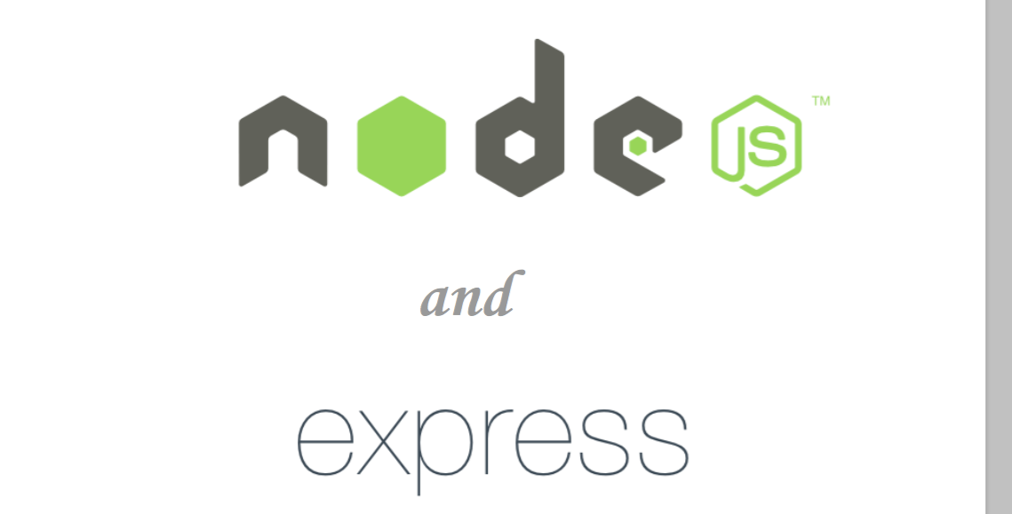 Express and Nodejs