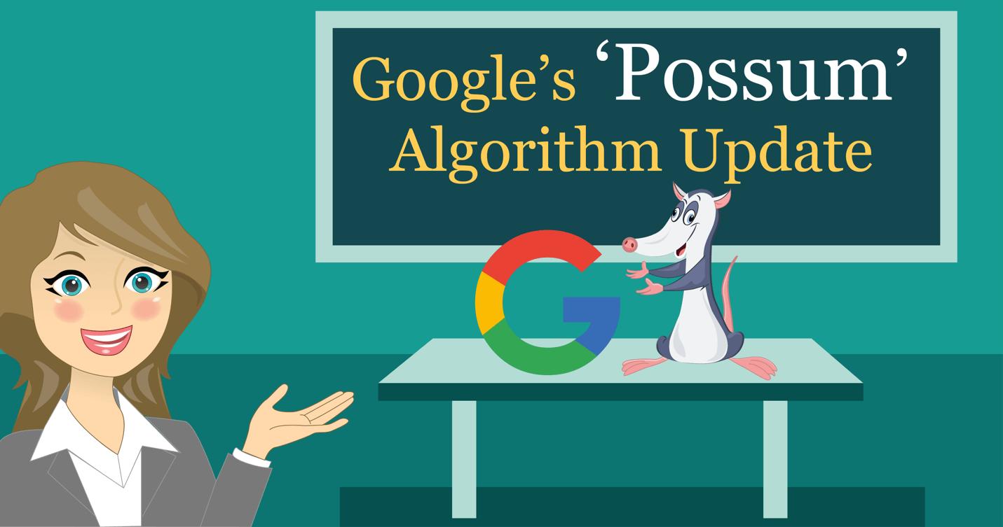 Google Possum Algorithm Update