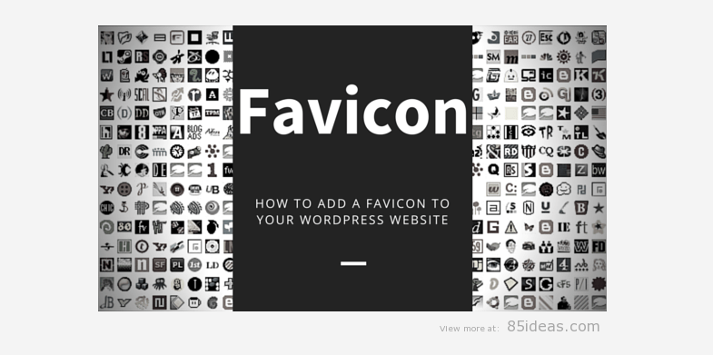 Default Favicon - WordPress mistakes