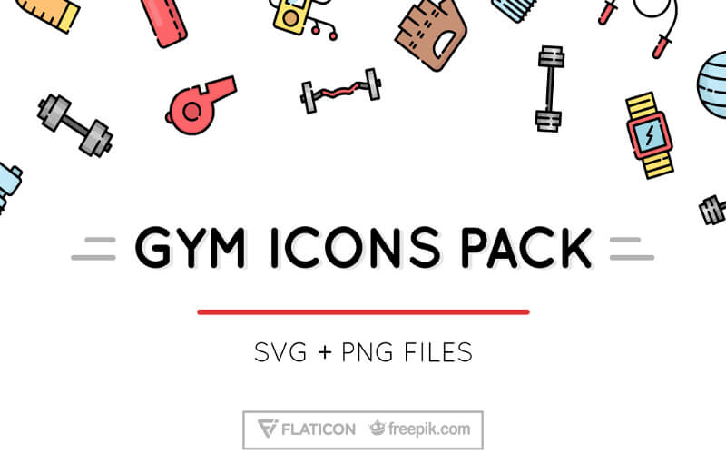 GYM ICONS PACK