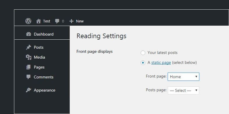 How not to allow full posts on your blog page