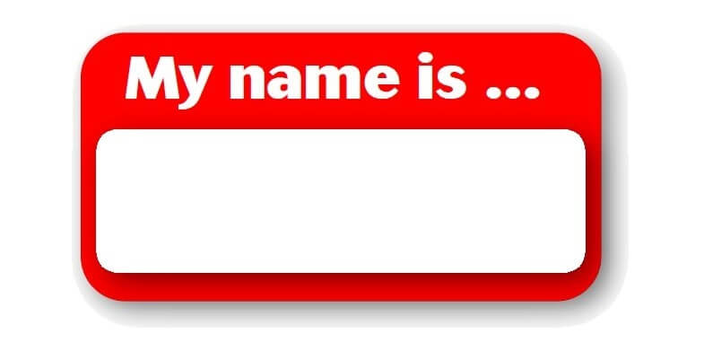 Name your images appropriately
