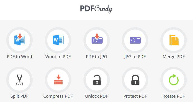 PDF Candy Software