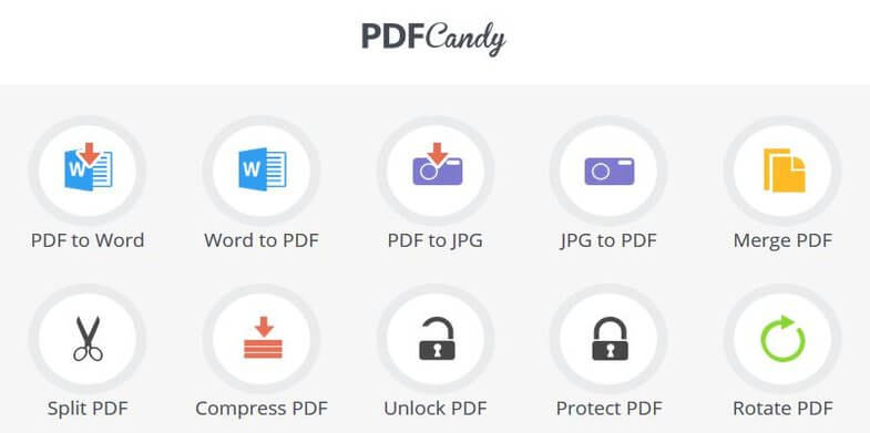PDF Candy – User Friendly and Modern File Conversion Software