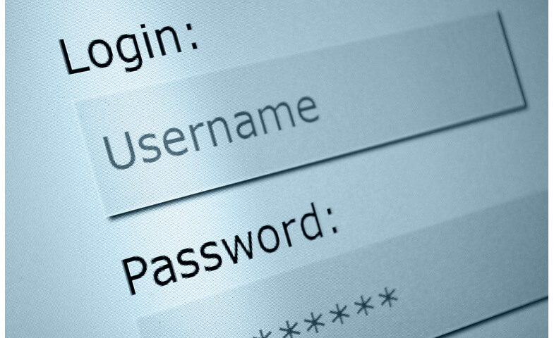 Use of email as login