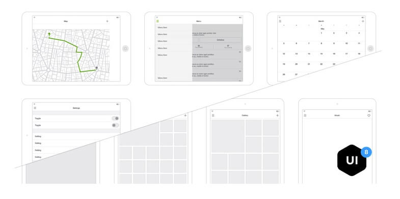 Wireframe kit v2