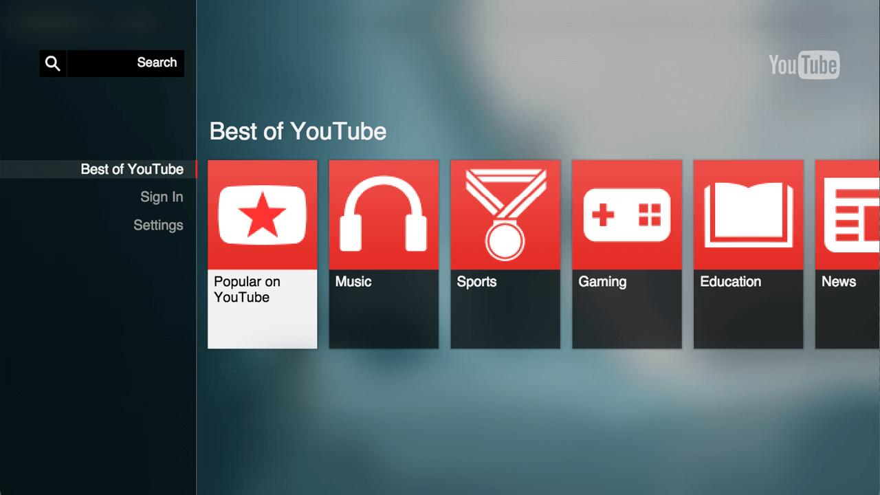 social platform like YouTube