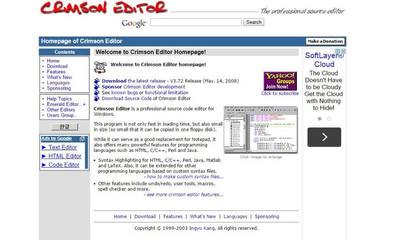 Crimson Editor