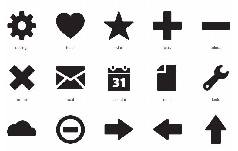 Foundation Icon Fonts 2