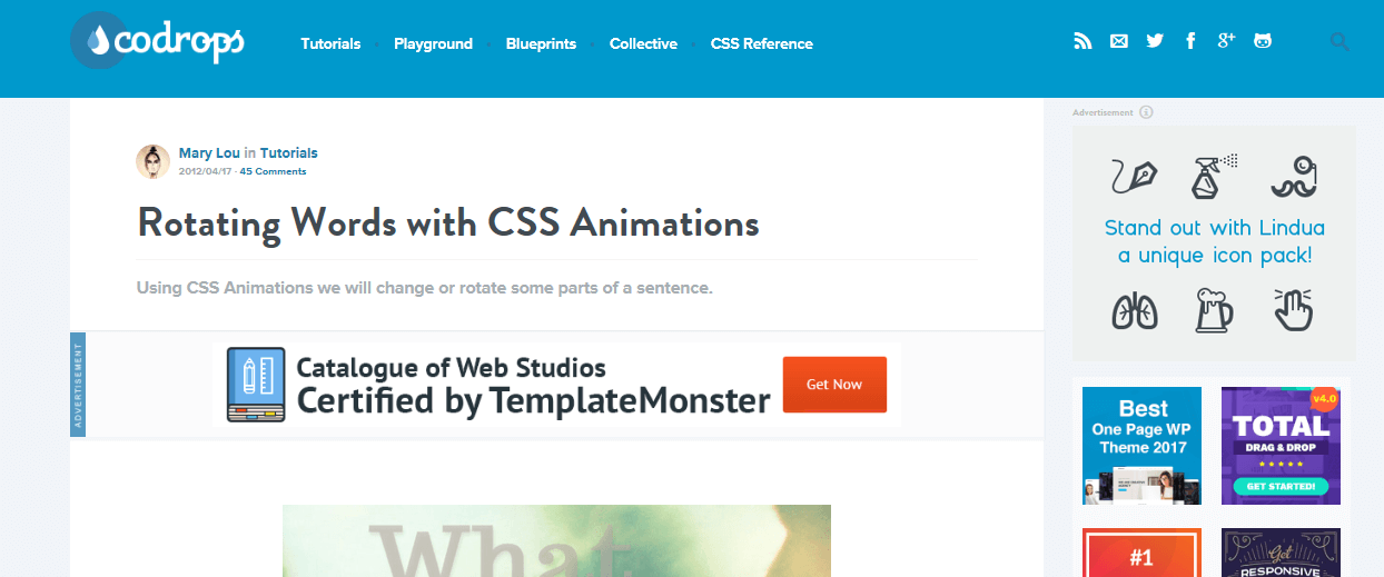 CSS3 Rotating Words - Free Plugins for Animation Effects