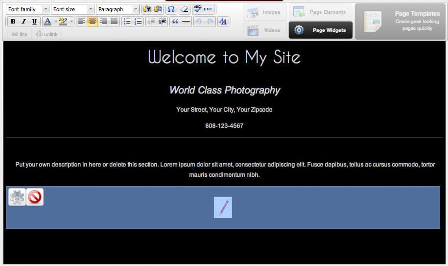 Custome Page