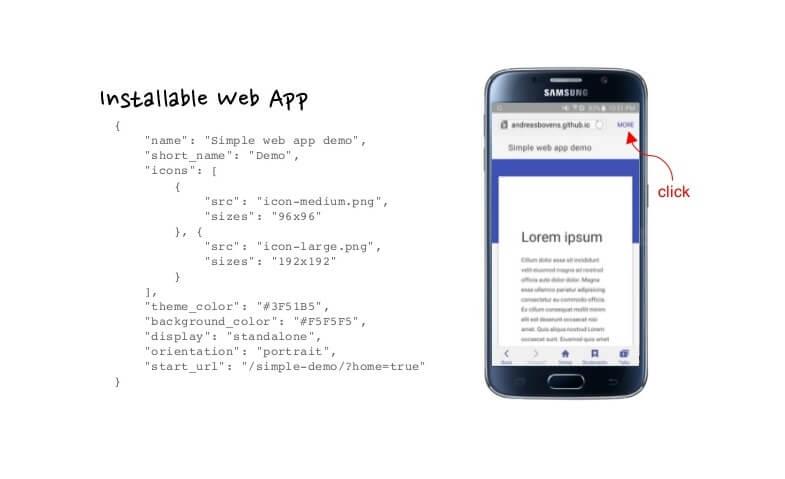 Installable Web App