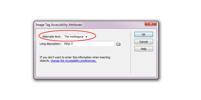 Optimize Alt Text