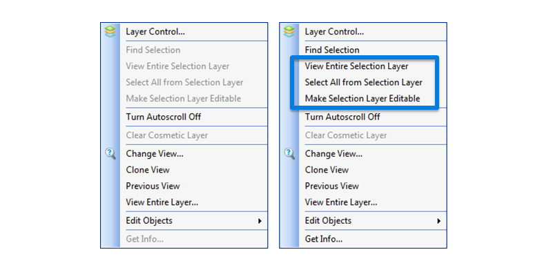 Select a Layer
