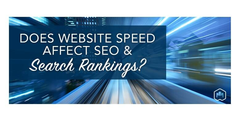 Website Speed Effects SEO