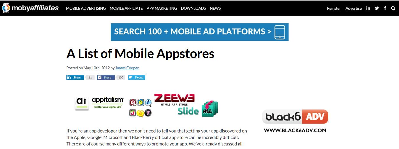 app stores work