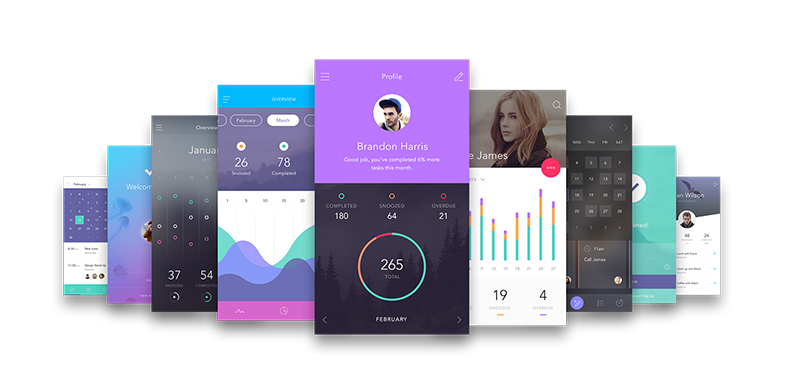 Mobile App Interfaces