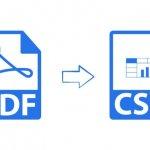 PDF to CSV